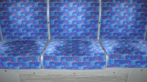 Empty tube seats
